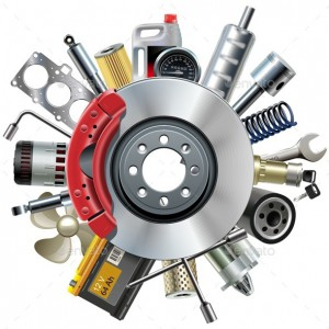Продажа запчастей Vector Car Spares Concept with Disk Brake