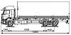 Схематическое изображение KАМАZ 6360-73