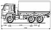 Купить автомобиль KAMAZ-5350-42