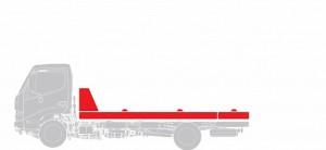Эвакуатор (сдвижная платформа) Hino  GD 12,0 тонн