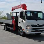 Купить автомобиль Hino Шасси XZU 7,5 тонн в Москве