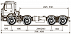 Шасси KАМАZ 6540-А4 по выгодным ценам