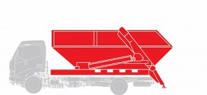 Контейнеровоз Hino  GD 12,0 тонн