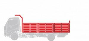 Самосвал Hino  GD 12,0 тонн