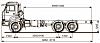 Шасси KAMAZ 5350-42 по оптимальным ценам
