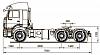 Схематическое изображение KАМАZ 6460 73