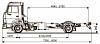 Продажа Шасси KАМАZ 4308-R4