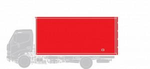 Промтоварный фургон Hino  GD 12,0 тонн