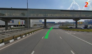 Схема проезда на автомобиле в сервисный центр Камионгрупп