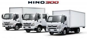 Модельный ряд автомобилей Hino СЕРИЯ 300