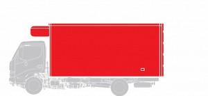 Изотермический / Рефрижератор Hino  GD 12,0 тонн