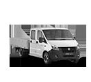 Бортовые автомобили с 6-местной кабиной ГАЗель