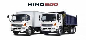 Грузовые автомобили Hino (Хино) серии 500