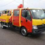 Грузовые автомобили Hino Шасси XZU 7,5 тонн