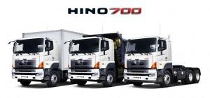 Модельный ряд автомобилей Hino серии 700