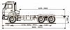 Шасси KАМАZ 65115-А4 по выгодной цене в Москве