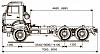Шасси KАМАZ 65111-42