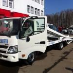 Грузовые автомобили Hino Шасси XZU 7,5 тонн по выгодным ценам