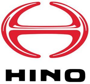 Модельный ряд грузовых  автомобилей Hino