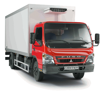 Изотермический фургон Mitsubishi Fuso CANTER