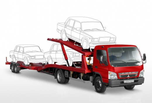 Автопоезда и прицепы Mitsubishi Fuso Canter