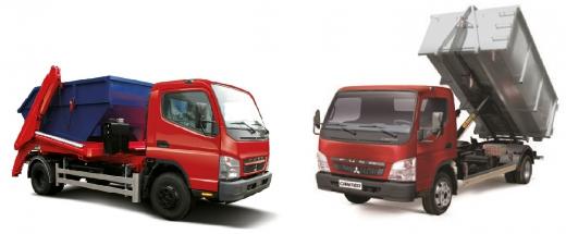 Погрузчики (портальные и крюковые) Mitsubishi Fuso