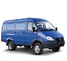 Цельнометаллические фургоны Газель