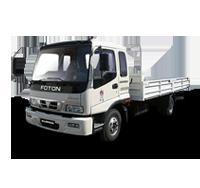 Среднетоннажные грузовики Auman. Грузоподъемность шасси от 6,0 до 10,0 т. Длина кузова от 5500 до 7500 мм