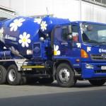 Грузовой автомобиль Hino Миксер FM 26 тонн