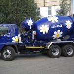 Автомобиль Hino Миксер FM 26 тонн