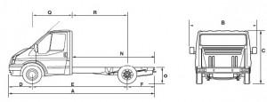 ford 350 схема